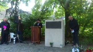 Spreker Menachem Evers