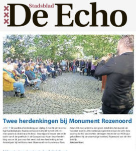4mai 2018 herdenking echo